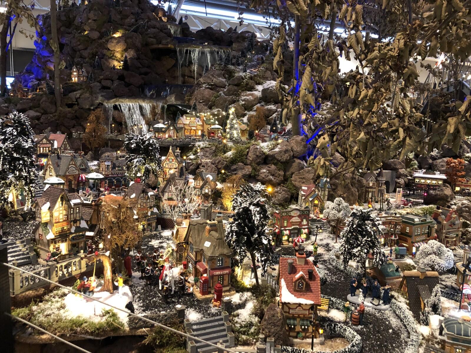 Kerstdorpjes bij Intratuin Duiven