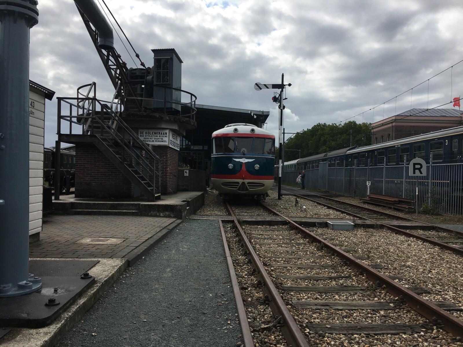 Naar het Spoorwegmuseum