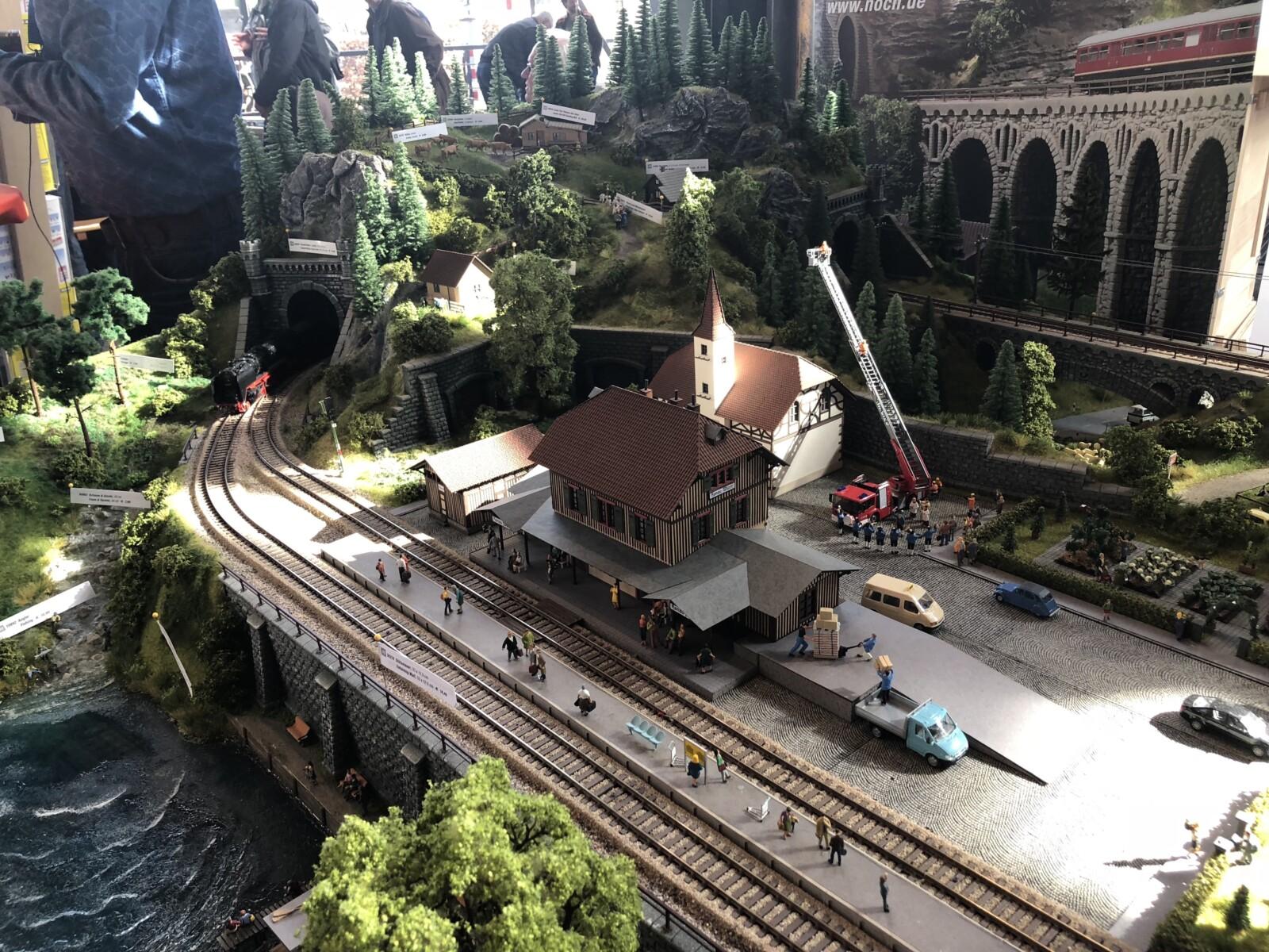 Modelspoorbanen in het Spoorwegmuseum Utrecht
