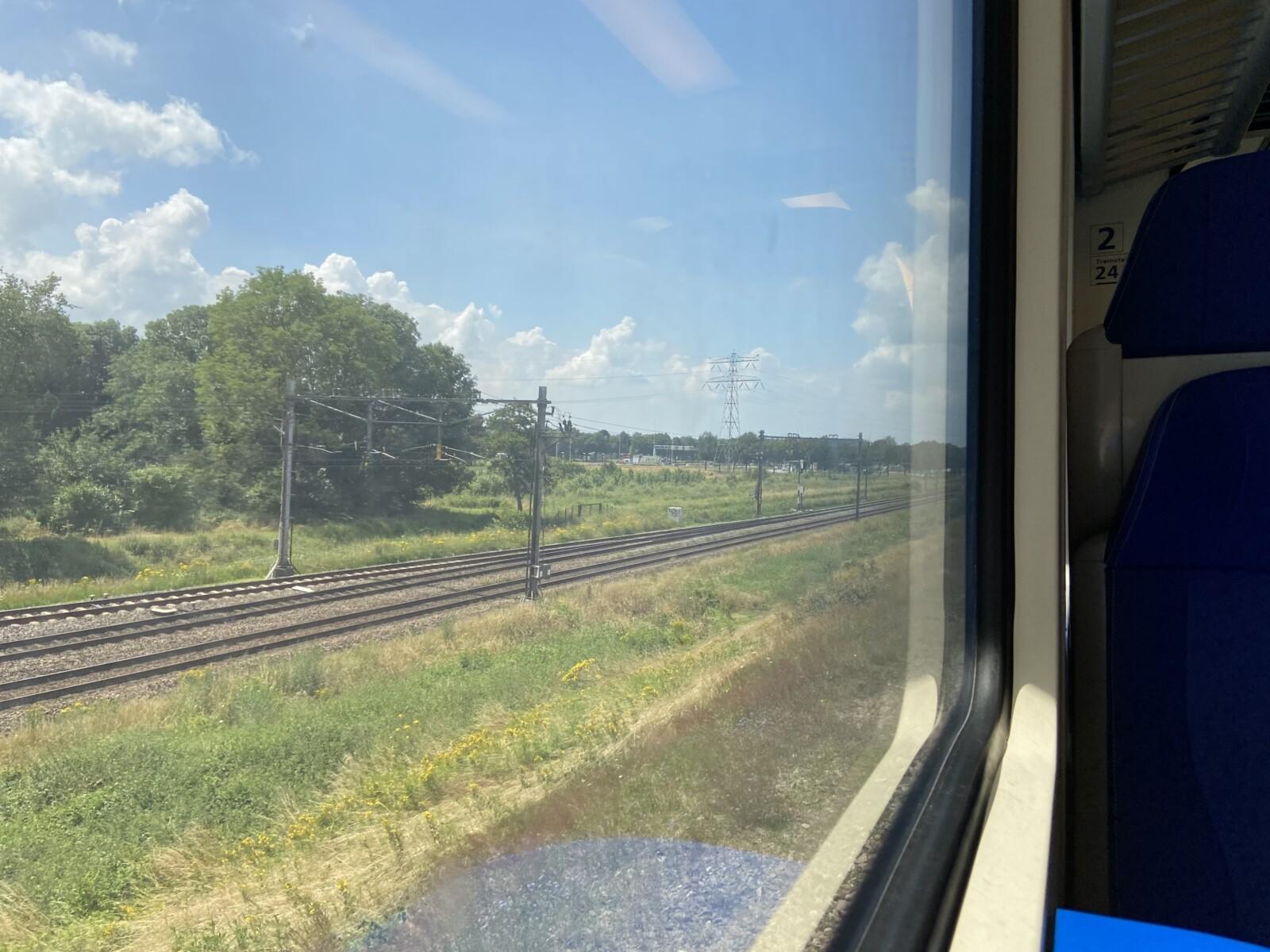 Fly-over A12 / spoorlijn