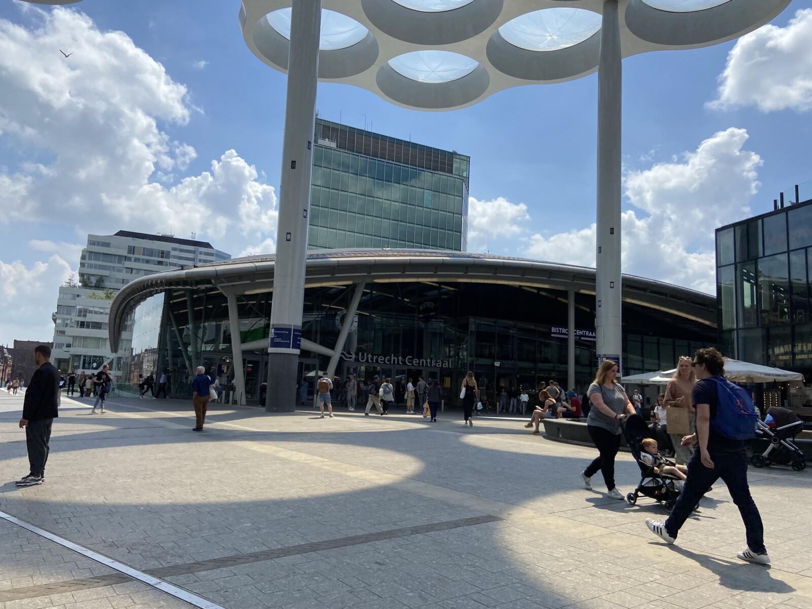 Ingang Utrecht Centraal