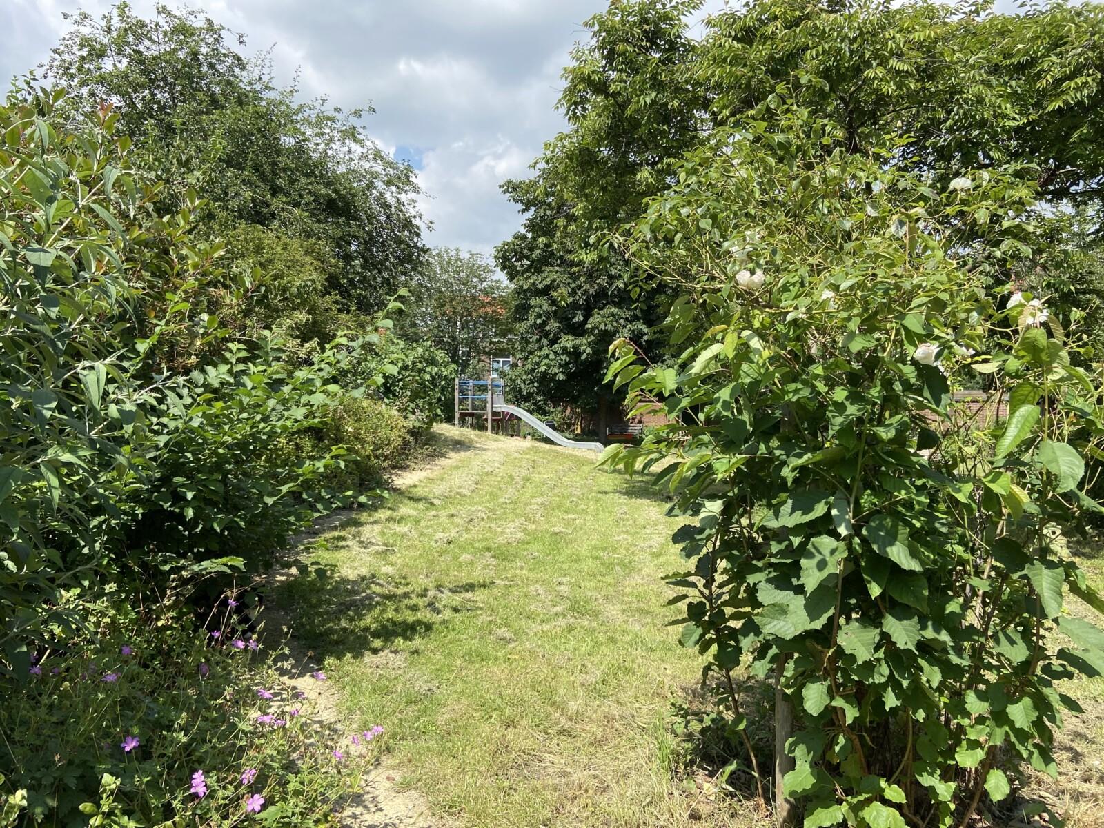 verborgen tuin